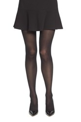 Chelsea 28 Ribbed Tights Black