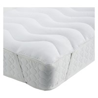 Habitat Ultrawashable Super King Mattress Topper White