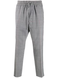 Vivienne Westwood Prince Of Wales Check Drawstring Trousers 60