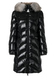 Moncler Padded Albizia Parka Women Feather Down Rabbit Fur Polyamide 1 Black