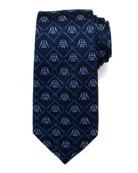 Cufflinks Inc. Star Wars Darth Vader Lightsaber Tie Navy