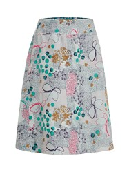 White Stuff Meadow Reversible Skirt Green