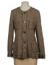 Semi Couture Suits And Jackets Blazers Women Camel