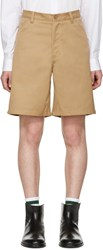 Acne Studios Brown Allan Shorts