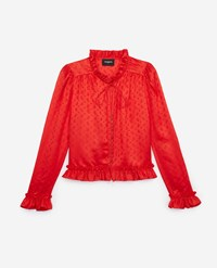The Kooples Formal Shirt For With Jacquard Print