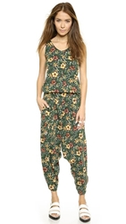 Y 3 Aop Jumpsuit Aop Flower