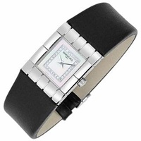 Raymond Weil Tema Ladies' Diamond River Leather Band Watch Silver