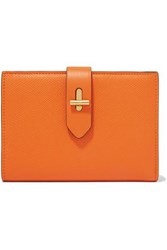 Tom Ford Textured Leather Wallet Orange