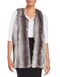 Romeo And Juliet Couture Faux Fur Vest