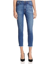 Parker Smith Bombshell Cropped Skinny Jeans In Dawn