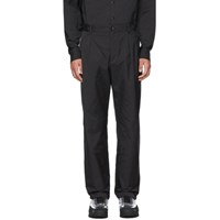 Valentino Black Virgin Wool Trousers