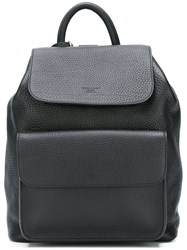 Giorgio Armani Large Backpack Black