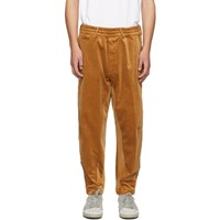 Golden Goose Tan Corduroy Freddy Trousers