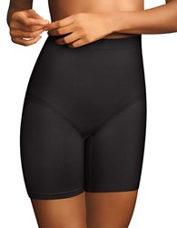 Maidenform Everyday Control Thigh Slimmers Black