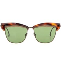 Bottega Veneta Tortoiseshell Sunglasses Brown