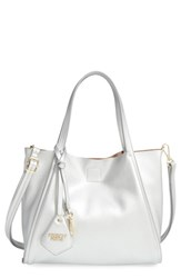 Poverty Flats By Rian 'Mini Sport' Faux Leather Shopper