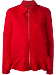 Moncler Gamme Rouge Zipped Jacket Red