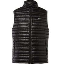 Patagonia Down Quilted Dwr Lightweight Gilet Black