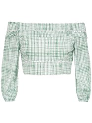 Olympiah Riva Cropped Top Green