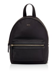 Dkny Nylon Kaden Medium Backpack Black