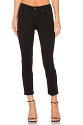 7 For All Mankind B Air Kimmie Crop Bair Black