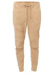 Balmain Tapered Trousers Brown