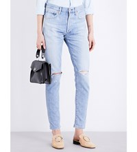 Citizens Of Humanity Liya Boyfriend Fit High Rise Jeans Torn