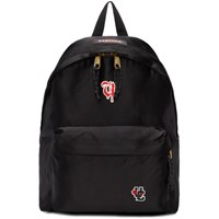 Undercover Black Eastpak Edition Satin Padded Pak'r Uc Backpack