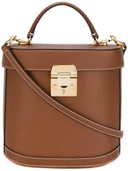 Mark Cross 'Benchley' Bag Women Calf Leather One Size Brown