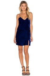 Line And Dot Natalie Slip Dress Blue