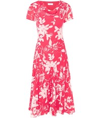 Cc Floral Cowl Neck Dress Pink