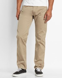 Carhartt Sand Wash Cortez Skill Tapered Fit Jeans Beige