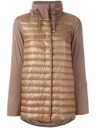Herno Padded Jacket Brown