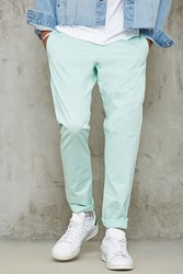Forever 21 Slim Fit Woven Chinos