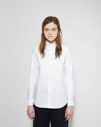 Visvim Hand Paint Button Down Shirt White