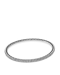 Pandora Design Pandora Bangle Sterling Silver And Cubic Zirconia Twinkling Forever