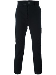 Cedric Jacquemyn Deconstructed Trousers Black