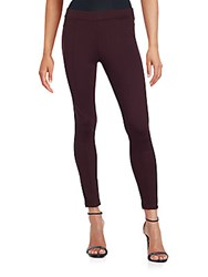 Matty M Ankle Length Leggings Merlot