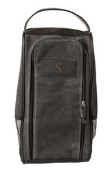 Cathy's Concepts Monogram Golf Shoe Bag Grey