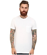 French Connection Loose Knit Jersey Tee White Men's T Shirt