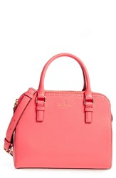 Kate Spade New York Cobble Hill Small Kiernan Leather Satchel Red Warm Guava