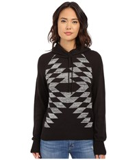 Obey Mars Pullover Sweater Black Women's Sweater