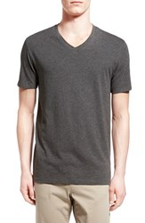 Men's Vince Pima Cotton V Neck T Shirt