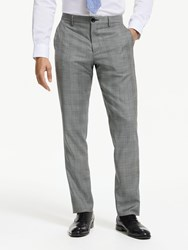 Paul Smith Ps Prince Of Wales Check Tailored Fit Suit Trousers Grey