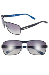 Hugo Boss 62Mm Polarized Sunglasses Blue