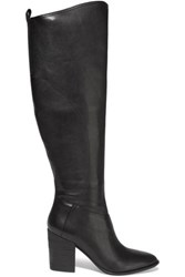 Sigerson Morrison Gazella Leather Knee Boots Black