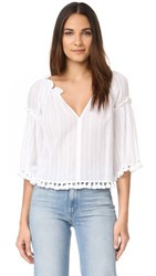 Club Monaco Tansa Top White
