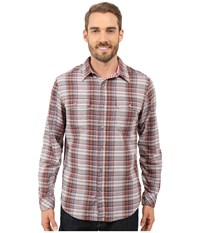 Marmot Montrose Long Sleeve Brick Men's Long Sleeve Button Up Red