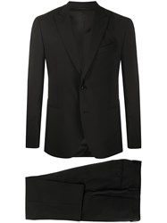 Dell'oglio Two Piece Dinner Suit Black