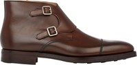 Crockett Jones Crockett And Jones Camberley Double Monk Chukka Boots Brown